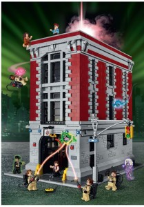 Lego Ghostbusters Headquarters 75827 Front