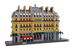Lego Hilton Paris Opera luxury set limited to 500 copies Set