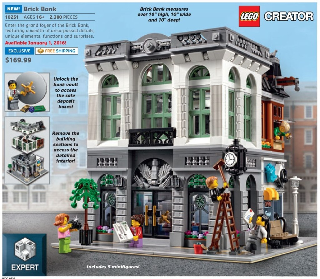 Home Shopping Catalog: Lego January 2016 US Shop At Home Catalog Is Up On Website