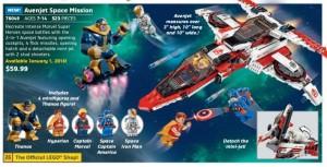 Lego Marvel SuperHeroes 76049 Avenjet Space Mission