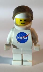 Lego Nasa Logo Minifigure