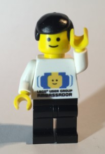 Lego User Group Ambassador Minifigure
