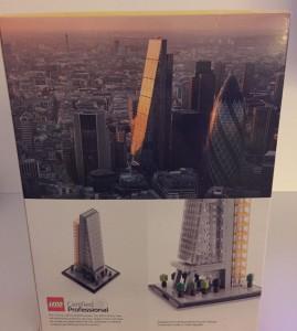Bright Bricks Lego Leadenhall Building Cheese grater Iconic London Building Box Back