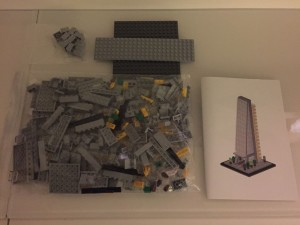 Bright Bricks Lego Leadenhall Building Cheese grater Iconic London Building Contents