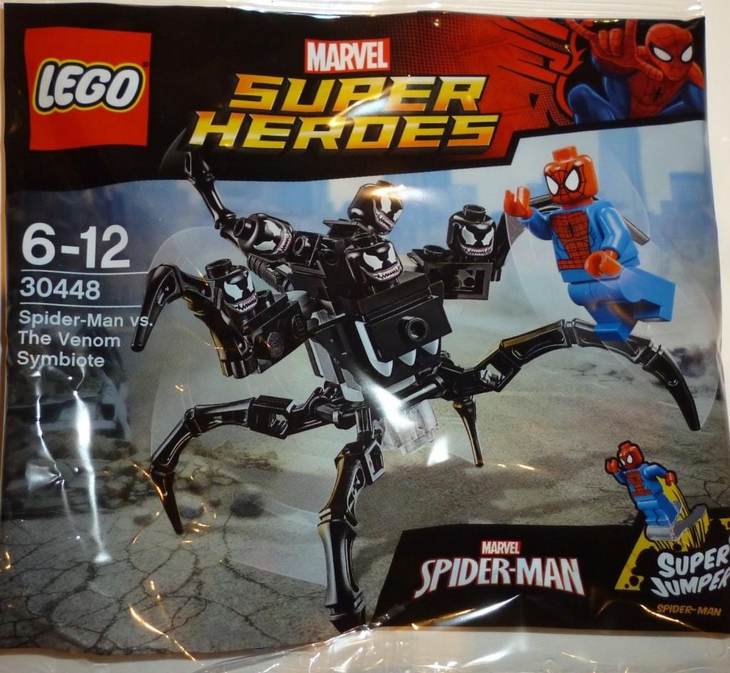 lego 30448 spiderman vs the venom symbiote polybag