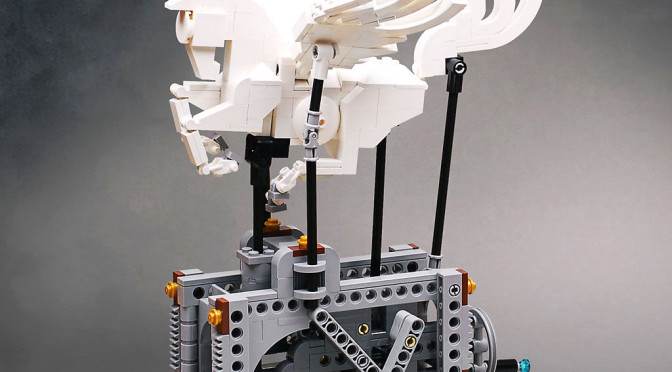 Lego Mechanical Pegasus Instructions To Build It Yourself