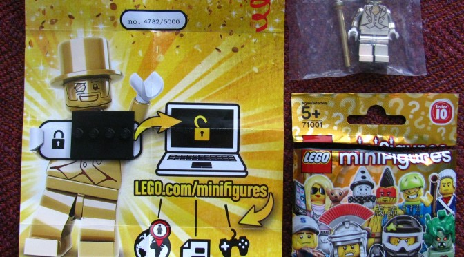 Lego Mr Gold Number 4782 Found in Montreal Canada | Minifigure Price ...