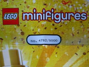 Lego Mr Gold Number 4782b