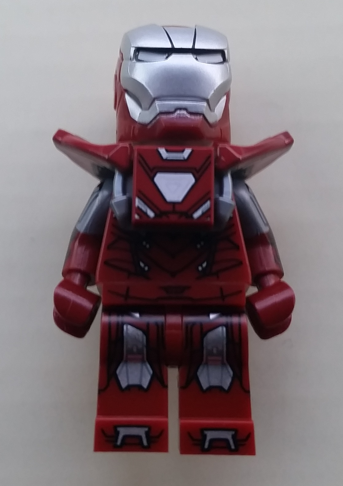 Lego Silver Centurion and Iron Partiot Minifigure GameStop