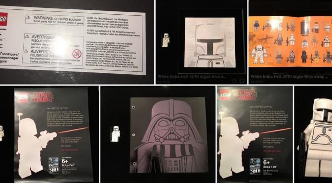 Lego Vip 2010 White Boba Fett And Darth Vader Book Boxed Set