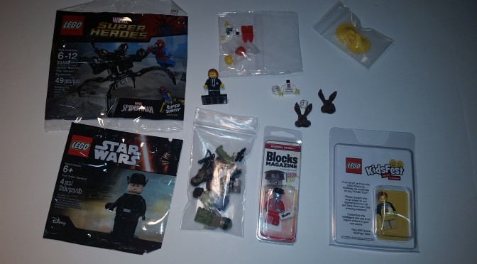 Lego Ebay and Bricklink Rare Minifigure Finds 2016 – See the haul