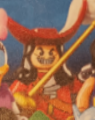 Lego 71012 Collectible Minifigures Disney Series Captain Hook Minifigure