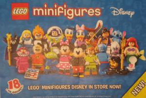 Lego 71012 Collectible Minifigures Disney Series Flyer Pre Release Image