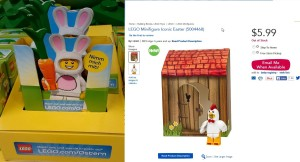 Lego Bunny Suit and Chicken Suit Guy coming to a store near you soon for Easter - Copy