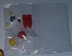 Lego Kladno Christmas Figure in Polybag
