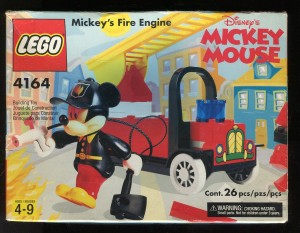 Lego Mickey Mouse Fire Engine