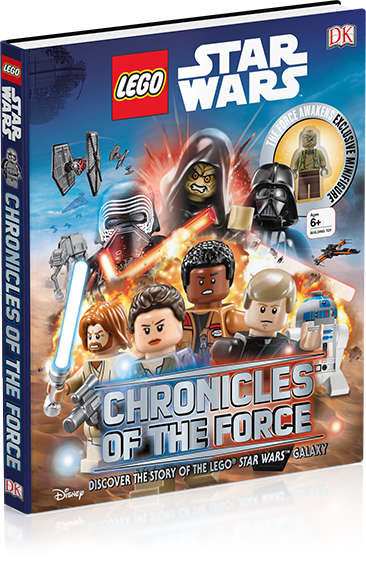 Lego Star Wars Chronicals of the Force DK Book with Exclusive Unkar ...