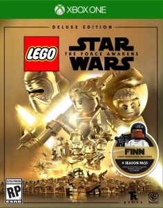 Lego XBOX One New Star Wars VIdeo Game with Exclusive FINN Minifigure
