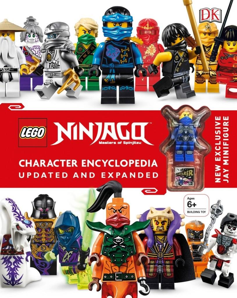 LEGO NINJAGO Character Encyclopedia Updated Edition with Exclusive Jay Minifigure on Amazon