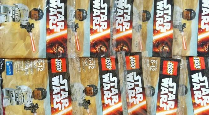 LEGO Star Wars Minifigure Exclusive Finn FN-2187 Polybag 30605