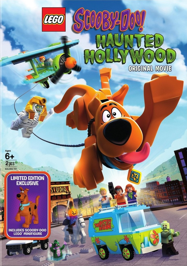 Lego Scooby Doo Haunted Hollywood with Exclusive Minifigure Front - Copy