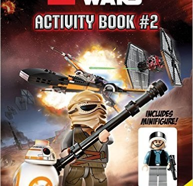 Lego Star Wars Activity Book Number 2 with Rebel Minifigure included