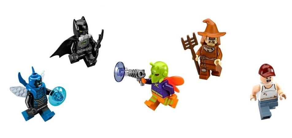 LEGO 76054 - DC Universe Super Heroes, Batman Scarecrows harvest minifigures