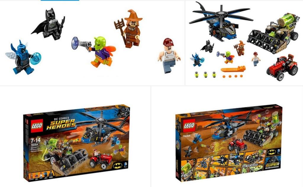 LEGO 76054 - DC Universe Super Heroes, Batman Scarecrows harvest mix