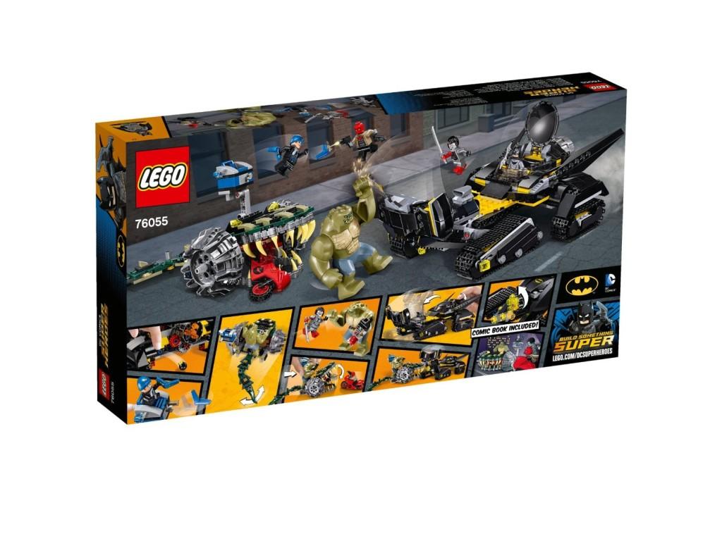 LEGO 76055 Super Heroes Batman Killer Croc Sewer Smash Back