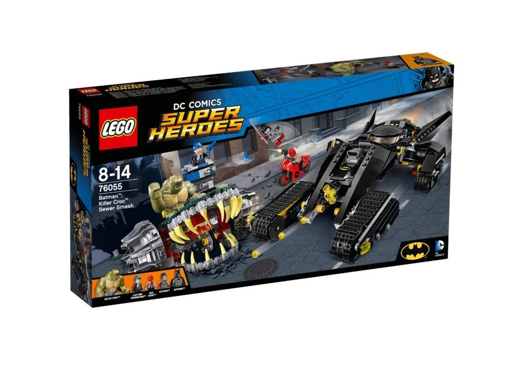 LEGO 76055 Super Heroes Batman Killer Croc Sewer Smash Front