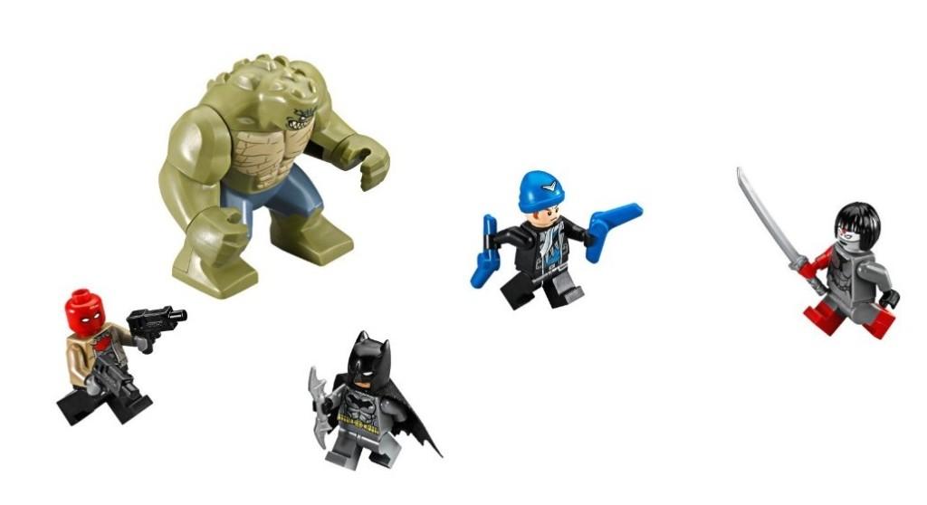 LEGO 76055 Super Heroes Batman Killer Croc Sewer Smash Inside - Minifigures