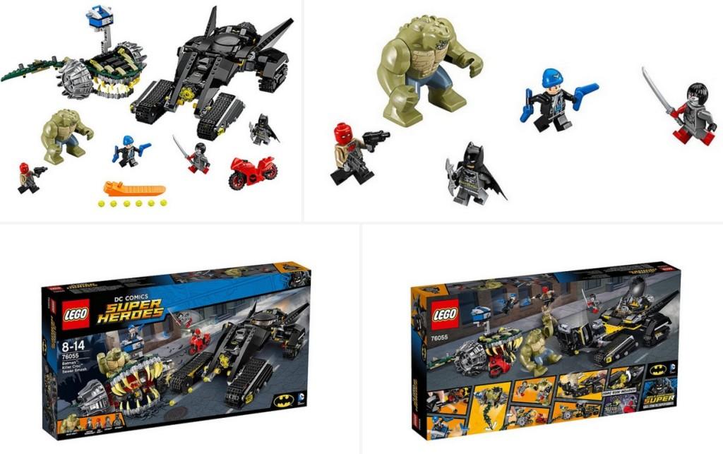 LEGO 76055 Super Heroes Batman Killer Croc Sewer Smash Mix