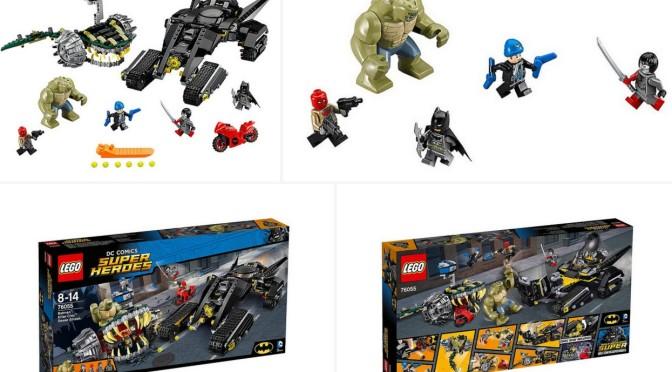 LEGO 76055 Super Heroes Batman Killer Croc Sewer Smash showed up on Amazon