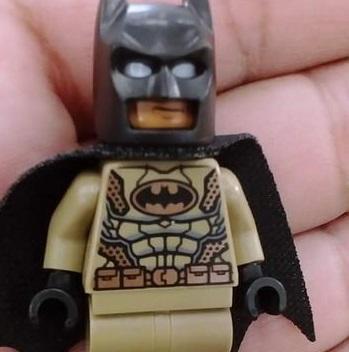 Lego Desert Batman in Ra's al Ghul Set
