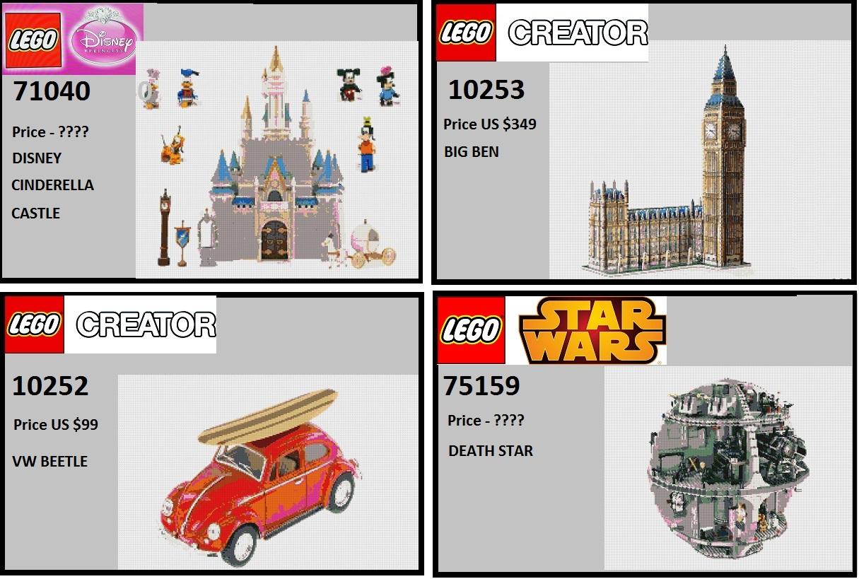 Φήμες για επερχόμενα LEGO Set All