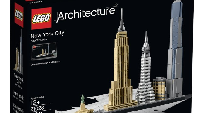 Lego 21028 New York City for 34 Percent Off Today