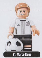 Lego 71014 German Soccer Series Minifigures Box