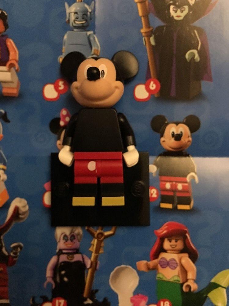 Lego Disney Mickey Mouse Minifigure Misprint
