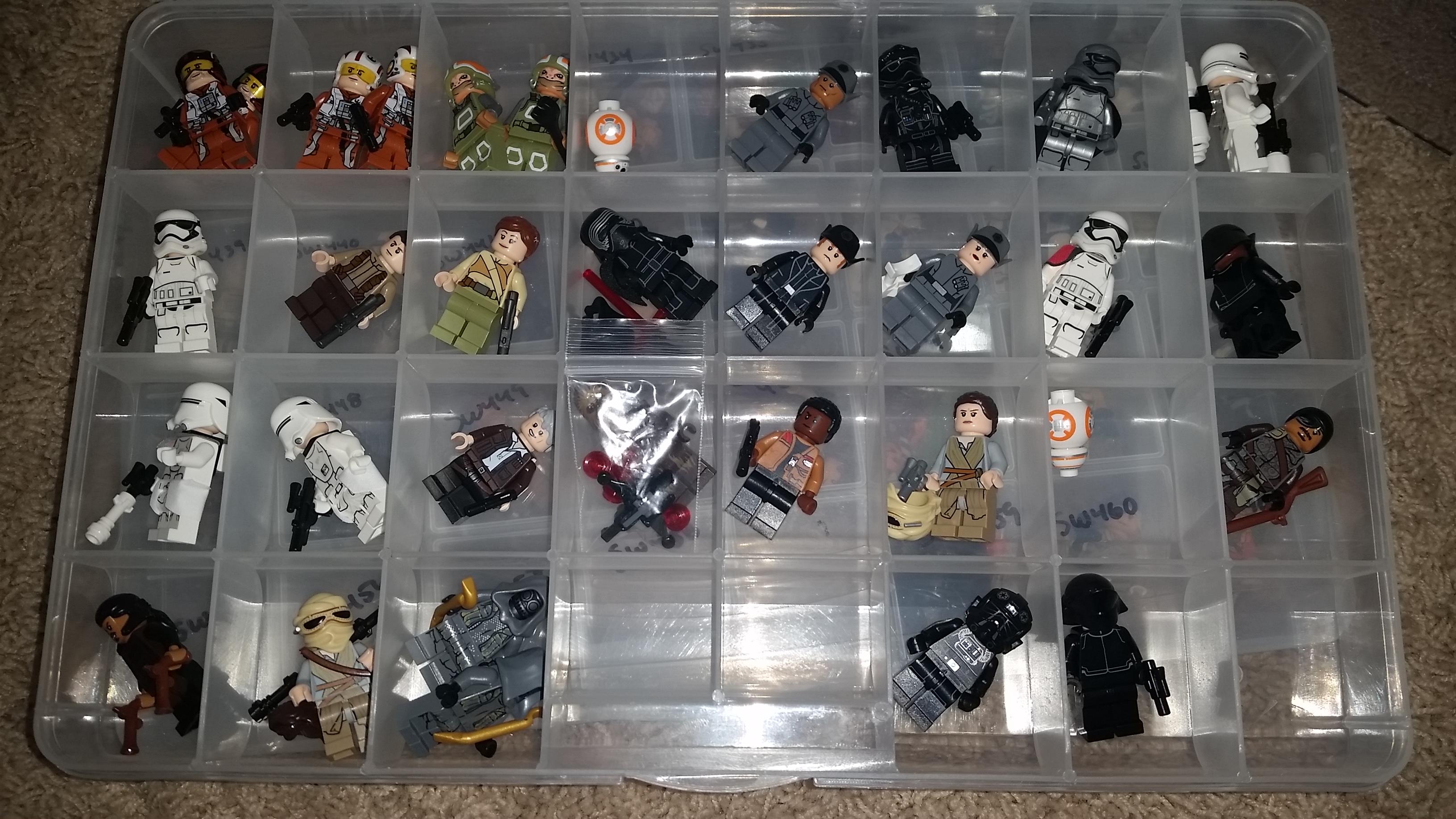 Star wars minifigures in progress pictures minifigure - Image star wars lego ...
