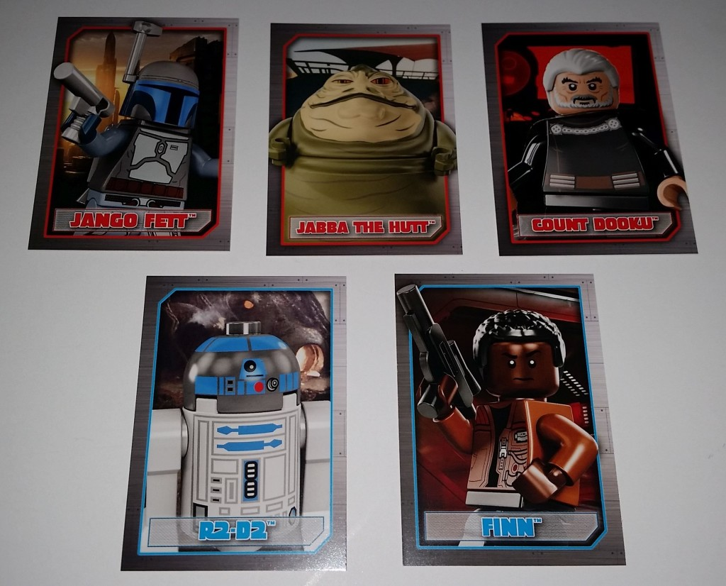 star wars lego list characters