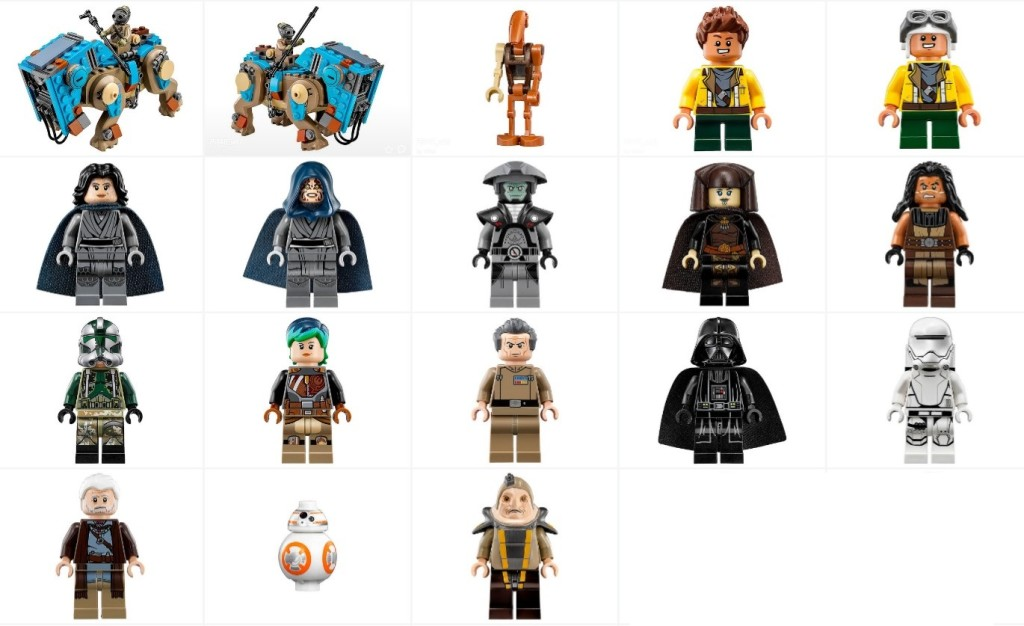 finally the official images of the summer star wars minifigures minifigure price guide. Black Bedroom Furniture Sets. Home Design Ideas