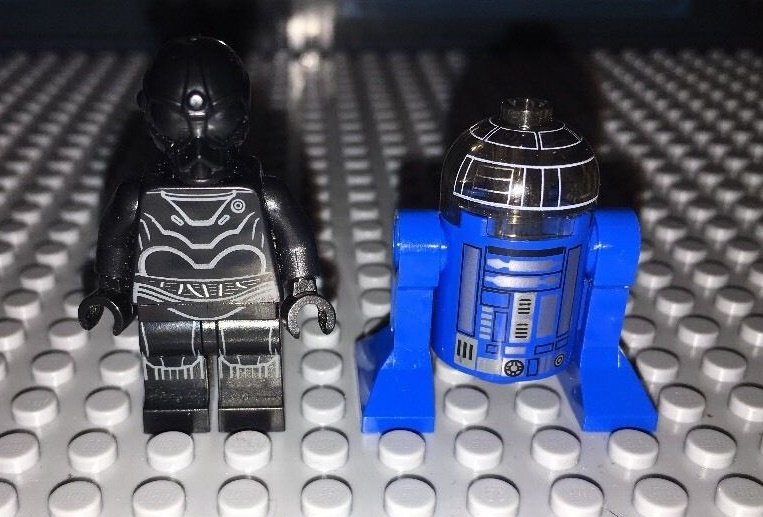 Imperial Astromech and Death Star Droid