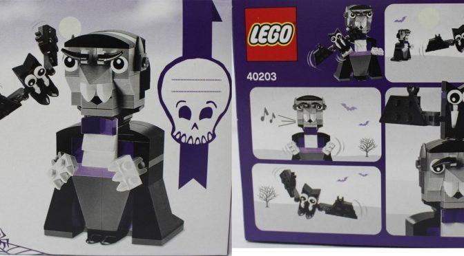 Lego 40203 2016 Halloween Vampire Seasonal Set found for sale