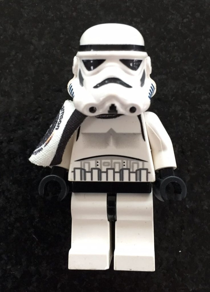 Lego 501st Limited Edition to 95 units German Garrison Minifigure White Pauldron Front