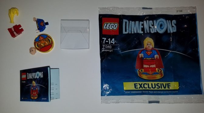 Video Review – Lego Dimensions Supergirl Exclusive Starter Pack Polybag 71340