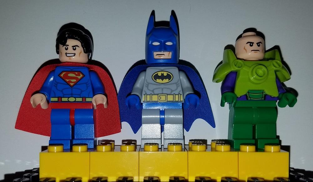 Lego Juniors Batman Super Man and Power Lex