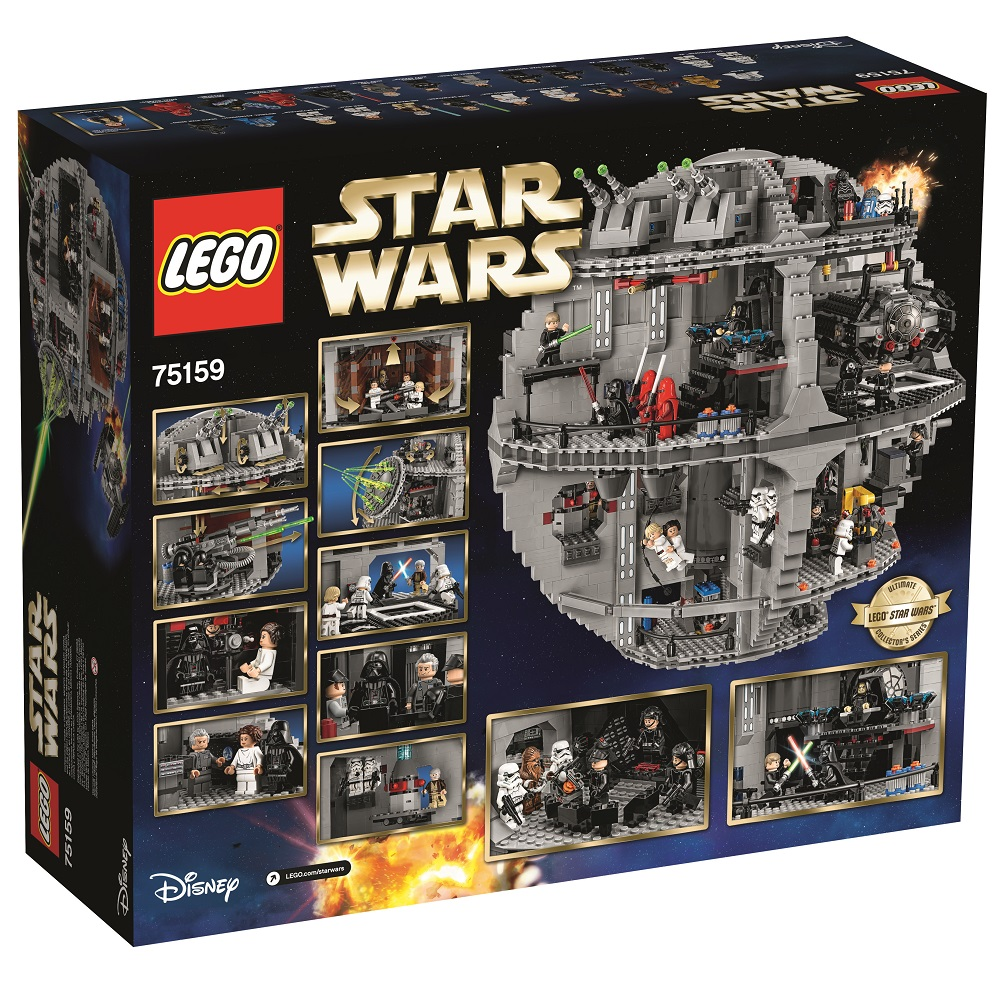 Lego 75159 minifigures galore oh and it comes with a box - Bd lego star wars ...