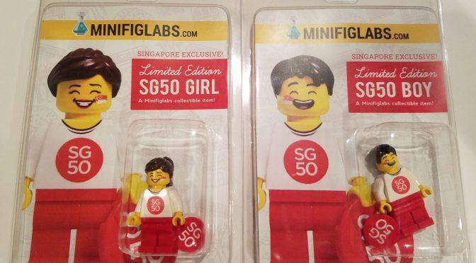 Minifiglabs Limited Edition Custom Lego SG50 minifigure