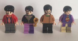 Lego Beatles Minifigures from Yelow Submarine Set