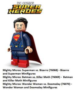 Lego DC SUper Heroes 2017